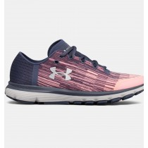 Zapatillas de running Under Armour SpeedForm® Velociti Mujer Fucsia / Gris (600)