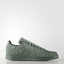 Adidas Originals Stan Smith Zapatos Mujer Trace Verde / Trace Verde / Trace Verde BZ0396
