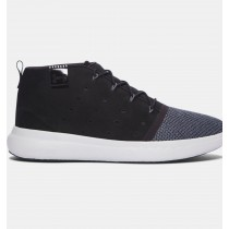 Hombre Under Armour Charged 24/7 Mid EXP Zapatillas Negro (001)