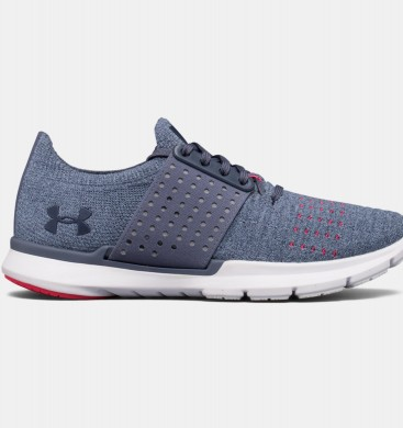Zapatillas de running Under Armour Threadborne Slingwrap Mujer Gris / Rojo (962)
