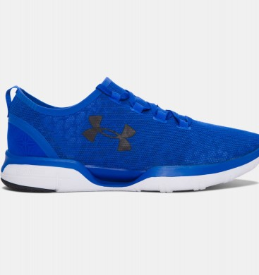 Under Armour Charged CoolSwitch de los hombres de los zapatos deportivos azules (907)