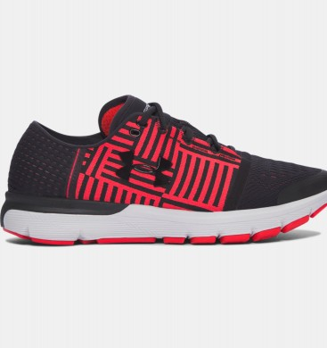Zapatillas de running Under Armour SpeedForm® Gemini 3 Hombre Negro / Rojo (004)
