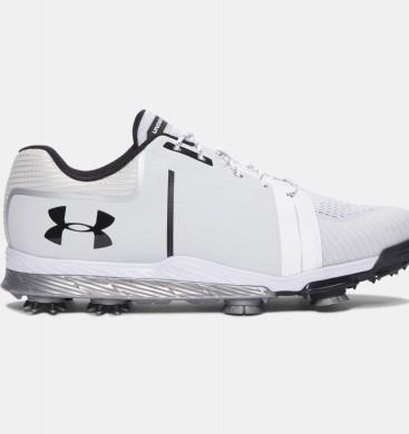 Zapatillas de golf Under Armour Tempo Sport Hombre Blancas / Negro (101)