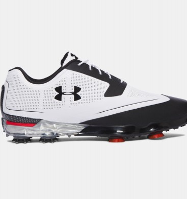 Under Armour Tour Tips Zapatos de golf Hombre Blancas / Negro (101)