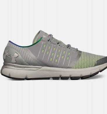 Zapatillas de running Under Armour SpeedForm® Europa Hombre Gris / Verde (100)