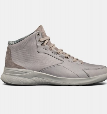 Under Armour Charged Pivot Mid Neutral Lifestyle Zapatillas Mujer Gris (035)