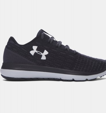 Under Armour Threadborne Slingflex Zapatos Mujer Negro / Gris (001)
