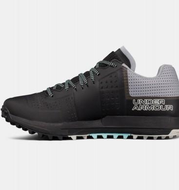 Zapatillas de trail running Under Armour Horizon RTT Mujer Negro / Gris (001)