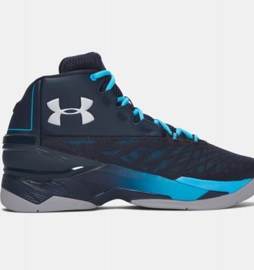 Hombre Under Armour Longshot Zapatillas de baloncesto Azul (288)