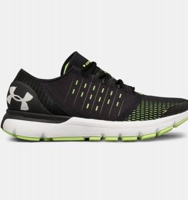 Zapatillas de running Under Armour SpeedForm® Europa Hombre Negro / Verde (003)