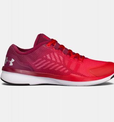 Zapatos de Training con empuñadura cargada Under Armour Mujer Rojo / Negro (600)
