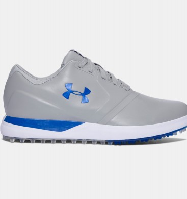Hombre Under Armour Performance Spikeless Golf Zapatillas Gris (035)