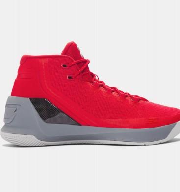 Zapatillas de baloncesto Under Armour Curry Three Hombre Rojo (600)