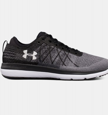 Under Armour Threadborne Fortis 3 Zapatillas Hombre Gris / Negro (001)