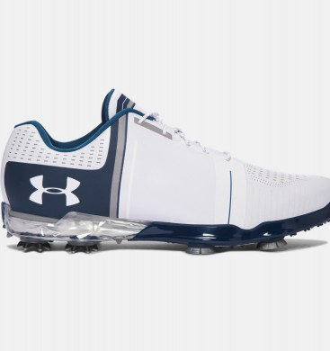 Zapatos de golf Under Armour Spieth One Hombre Blancas / Azul (141)