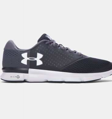 Zapatillas de running Under Armour Speed Swift 2 Hombre Negro / Gris / Púrpura (001)