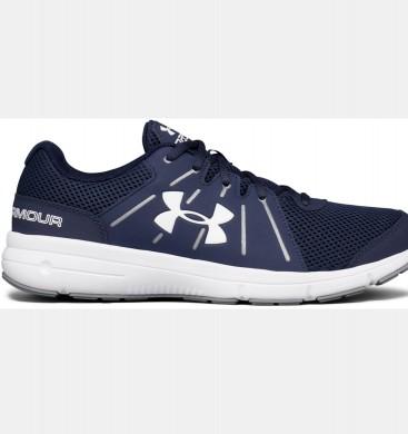 Zapatillas para correr Under Armour Dash 2 Hombre Azul marino / Blancas (410)