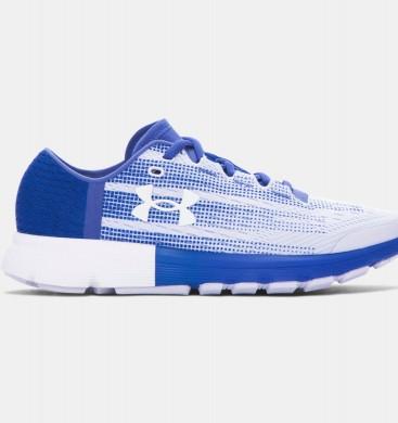 Zapatillas de running Under Armour SpeedForm® Velociti Mujer Púrpura / Azul / Blancas (500)