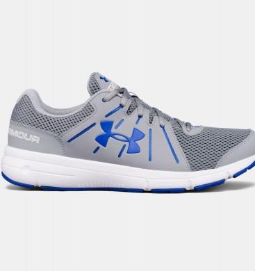 Zapatillas para correr Under Armour Dash 2 Hombre Gris / Azul (036)