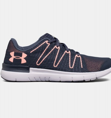 Zapatillas Mujer Under Armour Thrill 3 Gris / Fucsia (962)