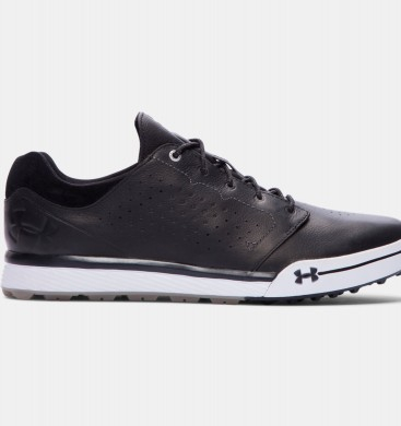 Hombre Under Armour Tempo Hybrid Golf Zapatillas Negro (011)