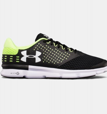 Zapatillas de running Under Armour Speed Swift 2 Hombre Negro / Verde (004)