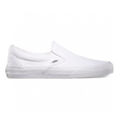 Zapatillas Slip-On Mujer Vans Classic True Blancas EYEW00