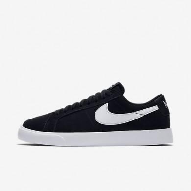 Hombre Zapatillas de skate Nike SB Blazer Vapor 878365-011 Negro / Blancas / Blancas / Blancas