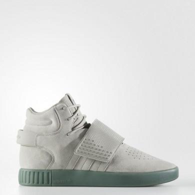 best cheap 8894b 5ccd5 Adidas Originals Tubular Invader Correa Zapatos Hombre Verde   Sésamo    Sésamo   Trace Verde BY3635