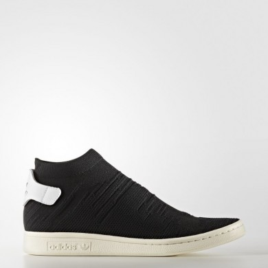 Adidas Originals Stan Smith Shock Primeknit Zapatos Mujer Core Negro / Calzado Blancas BY9251
