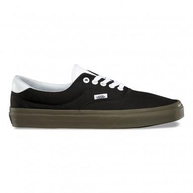 Vans Bleacher Era 59 Zapatos Mujer Negro / Goma
