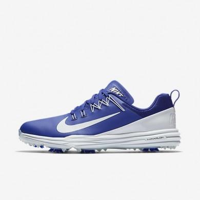 Zapatillas de golf Nike Lunar Command 2 Hombre 849968-500 Deep Night / Pure Platinum