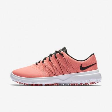 Zapatillas de golf Nike Lunar Empress 2 Mujer 819040-600 Lava Glow / Blancas / Negro