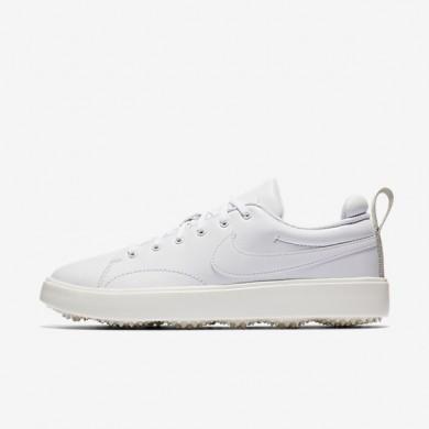 Zapatillas de golf Nike Course Classic Mujer 904680-100 Blancas / Sail / Negro / Blancas