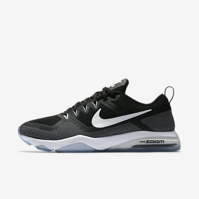 Zapatillas de entrenamiento Nike Zoom Fitness Mujer 904645-001 Negro / Blancas