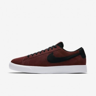 Zapatillas de skate Nike SB Blazer Vapor Hombre 878365-601 Oscuro Team Rojo / Blancas / Negro