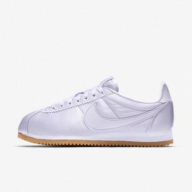 Zapatillas Nike Classic Cortez QS Mujer 920440-500 Barely Grape / Blancas / Gum Amarillo / Barely Grape