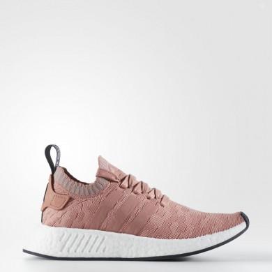 Adidas Originals NMD_R2 Primeknit Zapatos Mujer Raw Fucsia / Raw Fucsia / Gris Three