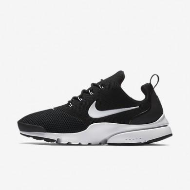 Zapatillas Nike Presto Fly Hombre 908019-002 Negro / Negro / Blancas