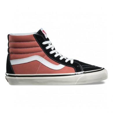 Vans Anaheim Factory SK8-Hi 38 DX Zapatos Mujer Rust / Negro