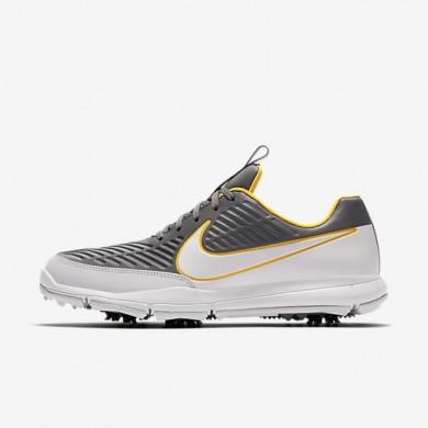 Zapatillas de golf Nike Explorer 2 S Hombre 922004-002 Gris oscuro / Laser Naranja / Pure Platinum