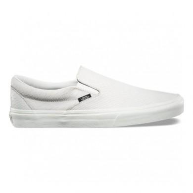 Vans Snake Classic Slip-On Zapatillas Mujer Blancas / Snake 8F7OIG