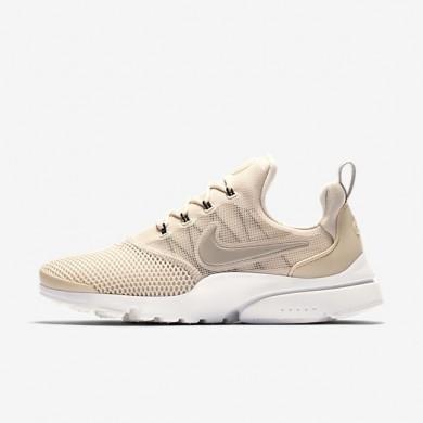 Mujer Nike Presto Fly zapatos 910569-102 Ligero Orewood Marrón / Sail / Cobblestone