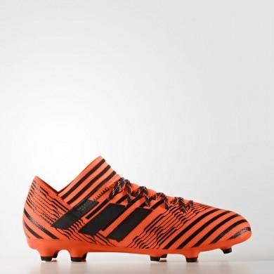Adidas Fútbol Nemeziz 17.3 Botas de tierra firme Hombre Solar Naranja / Core Negro S80604