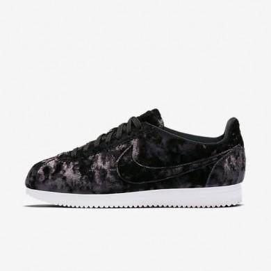 Zapatillas Nike Cortez Classic LX Mujer AA3255-001 Negro / Summit Blancas / Negro
