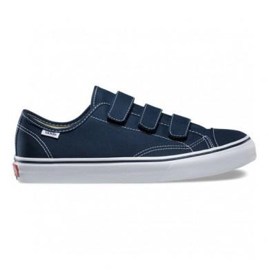 Vans Style 23 V Zapatos Hombre Vestido Azul