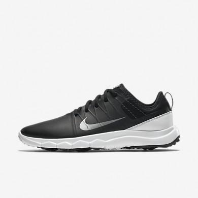 Zapatillas de golf Nike FI Impact 2 776093-002 Mujer Negro / Blancas / Metálico Cool Gris