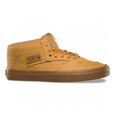 Vans Vansbuck Half Cab Zapatos Mujer Ligero Gum / Mono