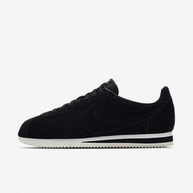 Zapatillas Nike Classic Cortez SE Hombre 902801-004 Negro / Summit Blancas / Negro
