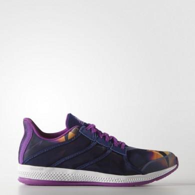 Mujer Entrenamiento Zapatillas Adidas Gymbreaker Bounce Shock Púrpura / Solar Oro / Blancas BB3980
